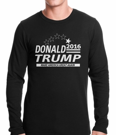 Donald Trump Presidential Campaign 2016 Thermal Shirt