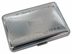Double Sided Metal Engraved Cigarette Case (Regular Size Only)
