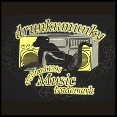 DrunknMunky Music Trademark T-Shirt