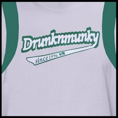 "DrunknMunky ""Team Logo"" T-Shirt (Grey)"
