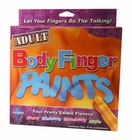 Edible Body Finger Paints