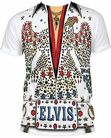 Elvis Presley Tuxedo Costume Men's T-Shirt