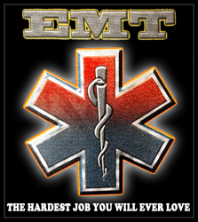 EMT The Hardest Job You Will Ever Love Men's T-Shirt