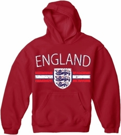 England Vintage Shield International Mens Hoodie