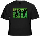 Equalizer Dancers Sound Reactive T-Shirt