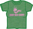 Every Inch Counts Girls T-Shirt