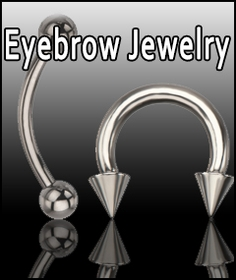 Eyebrow Jewelry | Eyebrow Rings | Body Jewelry