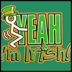 F*ck Yeah I'm Irish Men's T-Shirt