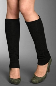 Fashion Comfort Leg Warmers (Solid Colors) (3 Pack)