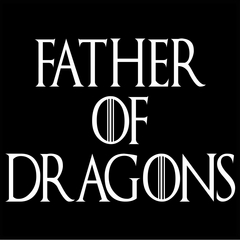 Father Of Dragons Mens T-shirt