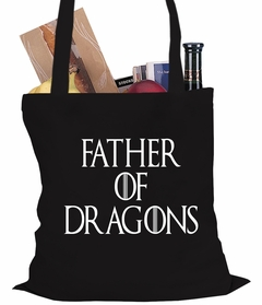 Father Of Dragons Tote Bag