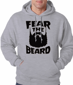 Fear The Beard Adult Hoodie