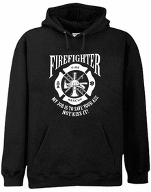 Firefighter's Save Your Ass Hoodie