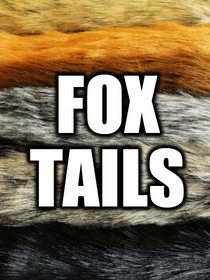 Fox Tails - Foxtail Fashion Keychain