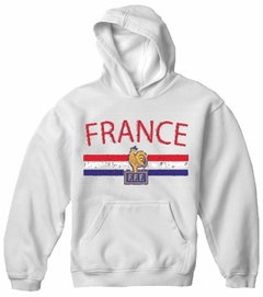 France Vintage Shield International Hoodie