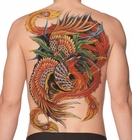 Temporary Tattoo (full back) - Feather Dragon