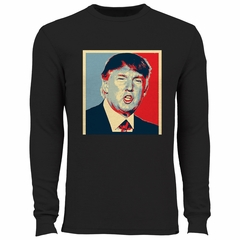 Full Color Trump Portrait Thermal Shirt