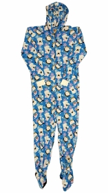 Fun Footies - Penguins and Polar Bears Unisex Adult Feety Pajamas