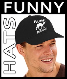 Funny, Rude & Offensive Novelty Baseball Hats