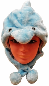 Furry Animal Hats (Dolphin)
