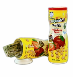 Gerber Puffs Cereal Snack Diversion Safe