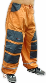 Ghast Hi-Tech Contrast Pants (Orange / Grey)