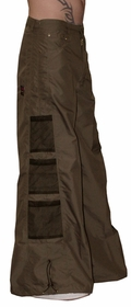 Ghast Wide Bottom Raver Pants (Brown)