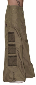 Ghast Wide Bottom Raver Pants (Khaki)
