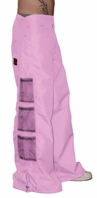 Ghast Wide  Bottom Raver Pants (Light Pink)