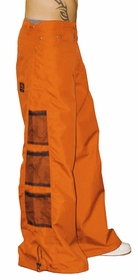 Ghast Wide Bottom Raver Pants (Orange)