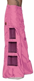 Ghast Wide Bottom Raver Pants (Pink)