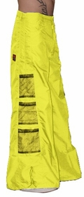 Ghast Wide  Bottom Raver Pants (Yellow)