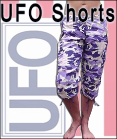 Girl's UFO Shorts, Short Ufo pants