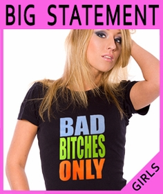 Girls Big Statement Shirts