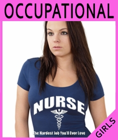 Girls Occupational T-Shirts