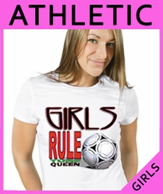 Girls Sports & Games T-Shirts