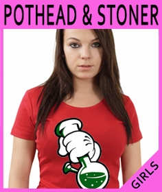 Girls Stoner & Pothead T-Shirts