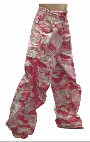 Girly Basic UFO Pants (Pink Camo)<!-- Click to Enlarge-->