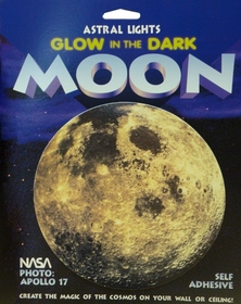 Glow in the Dark 3-D Moon