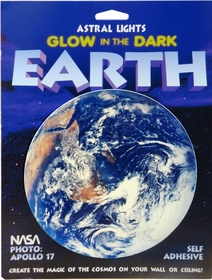 Glow in the Dark 3-D Planet Earth