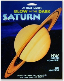 Glow in the Dark 3-D Saturn