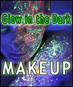 Glow in the Dark & Black Light Makeup and Nail Polish