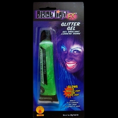 Glow in the Dark & Black Light Reactive Hair & Body Gel