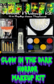Glow In The Dark Horror Makeup Kit