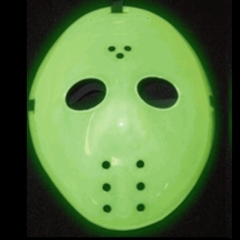 Glow in the Dark Jason Hockey Mask