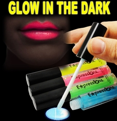 Glow In The Dark Lip Gloss (4-Piece Set)