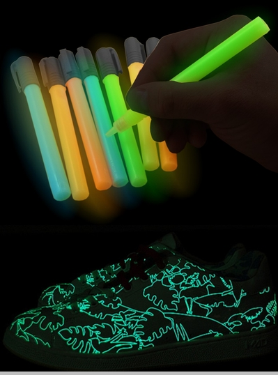glow in the dark paint pens. Black Bedroom Furniture Sets. Home Design Ideas