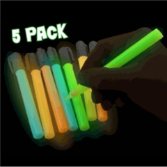 Glow in the Dark Paint Pens (5 Pack)