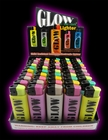 Glow in the Dark Refillable Lighter (Assorted)
