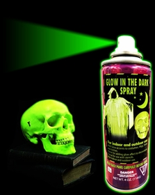 GLOW IN THE DARK Spray Paint (Green)
